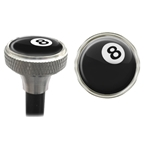 Clean Motion Valve Caps 8-Ball