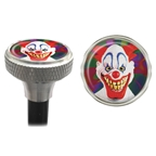 Clean Motion Valve Caps Evil Clown