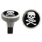Clean Motion Valve Caps Skull