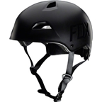 Fox Racing Flight Helmet: Matte Black MD