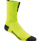 Louis Garneau Conti Long Men's Sock: Yellow