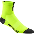 Louis Garneau Conti Men's Sock: Yellow
