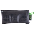 Green Guru Medium Zipper Pouch from Recycled Bike Tubes