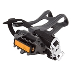 "Sunlite MTB Low profile 9/16"" Black Pedals with Clips"