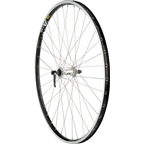 Quality Wheels Pavement Front Wheel 700c 36h Shimano XT Silver / Mavic A719 Black / DT Competition Silver