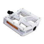"""Black-Ops T-Bar 1/2"""" White Pedals"""
