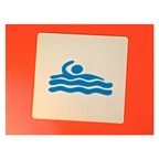 KitBrix Icon Badge Swim