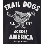 All-City Trail Dogs Across America Women's T-Shirt: Black
