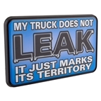 "Trik Topz 2"" Hitch Cover - My Truck Does Not Leak"