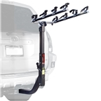 "Allen S645 Extended 4 Bike Hitch Rack for 2"" Receivers"