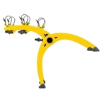 Saris 801 Bones 3-Bike Rack Yellow