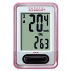 CatEye CC-VT210 Velo Wireless+ Cycling Computer - Pink