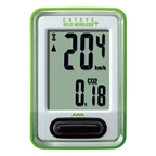 CatEye CC-VT210 Velo Wireless+ Cycling Computer - Green