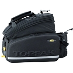 Topeak MTX Trunkbag DX With Waterbottle Holder: Black