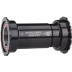 Wheels Manufacturing BB86/92 SRAM Bottom Bracket with ABEC-3 Bearings Black Cups - Threaded