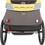 Burley Cub Child Trailer Yellow