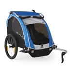 Burley Encore Child Carrier - Blue