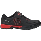 Five Ten Kestrel Lace Men's Clipless Shoe: Black/Red