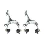 Sunlite 420AG Road Dual Pivot Caliper Brake Set Silver - 39-49mm