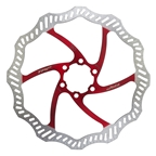 TRP 180mm 6 Bolt Disc Red Rotor with Bolts