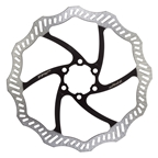 TRP 180mm 6 Bolt Disc Black Rotor with Bolts