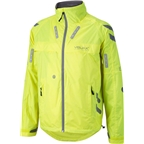 Visijax Commuter LED Unisex Cycling Jacket Hi Vis Yellow