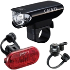 CatEye Headlight, Taillight, And Bell Set EL125, LD135, And Bell