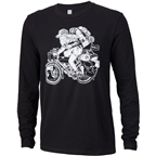 Surly Long Haul Trucker Joe Men's Long Sleeve Shirt: Black