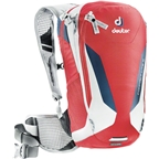 Deuter Compact Lite 8 Hydration Pack: 3L Reservoir, Fire/White