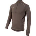 Pearl Izumi Pursuit Long Sleeve Men's Top: Shadow Gray