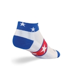 SockGuy Channel Air USA Sock: White