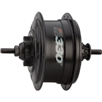 NuVinci Nfinity N330 Internally Geared Rear Hub, 32H, Black, Disc