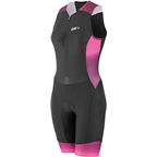 Louis Garneau Pro Carbon Women's Tri Suit Black/Pink