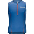 Zoot Active Tri Mesh Tank Men's Triathlon Top: Vivid Blue