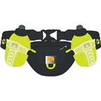 Nathan Trail Mix Insulated Hydration Belt with two 10oz Bottles: One Size Fits Most Black