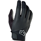Fox Racing Reflex Gel Women's Full Finger Glove: Black