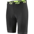 Fox Racing Evolution Comp Men's Liner Short with Chamois: Black
