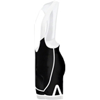 Primal Wear Onyx EVO Men's Cycling Bib Short: Black/White