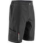 Louis Garneau Range Men's MTB Short: Asphalt Gray