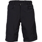 Zoic 12 Ether Men's Cycling Short with Removable Chamois Liner: Black