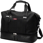Po Campo Midway Weekender Bag: Black Herringbone