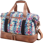Po Campo Midway Weekender Bag: Mosaic