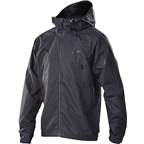 Royal Matrix Men's Jacket: Black
