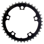 Origin8 Alloy Ramped 110mm 38T Chainring Black and Silver