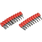 PrestaCycle Bicycle Tool Bits, 20 Piece CR/V Bit Set