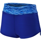 TYR Sonoma Women's Active Mini Fully Lined Boyshort: Velvet Blue