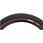 "Animal GLH Tire 20 x 2.25"" Black with Maroon Sidewall"