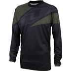 One Industries Atom Long Sleeve Jersey: Black