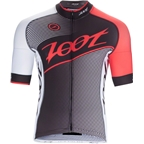 Zoot Cycle Team Men's Jersey: Black/Race Day Red