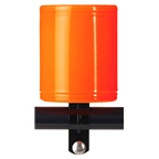 Kroozer Cup Drink Holder Neon Orange